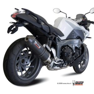 ESCAPES MIVV BMW - Mivv Oval carbono, copa carbono BMW K 1300 R/S 2009+ -