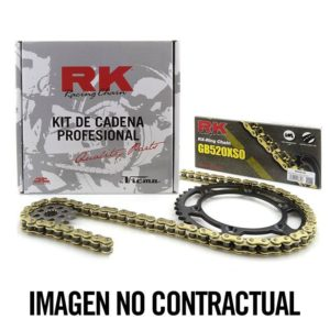 BULTACO - Kit cadena RK 420M (12-53-130) -