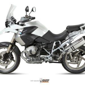 ESCAPES MIVV BMW - Mivv Speed edge acero inox, copa carbono BMW R 1200 GS (2010 en adelante) -