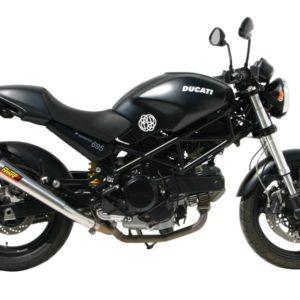 ESCAPES MIVV DUCATI - Mivv X-cone acero inox Monster 695 2006+ -