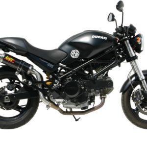 ESCAPES MIVV DUCATI - Mivv GP carbono (alto) Monster 695 2006+ -
