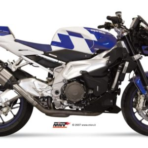 ESCAPES MIVV APRILIA - MIVV SUONO INOX, COPA CARBONO TUONO FIGHTER 1000 (2006-2010) -