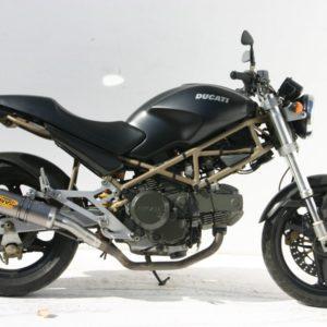 ESCAPES MIVV DUCATI - Mivv GP titanio Monster 750 1999-2002 -