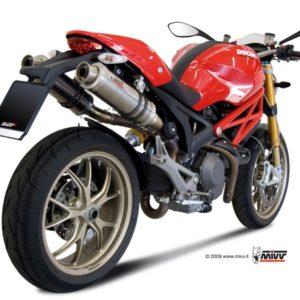 ESCAPES MIVV DUCATI - Mivv GP titanio Monster 796 2010+ -