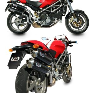 ESCAPES MIVV DUCATI - Mivv Oval carbono Monster S2R 1000 2006+ -