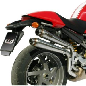 ESCAPES MIVV DUCATI - Mivv X-cone acero inox Monster S2R 1000 2006+ -