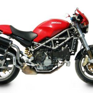 Ducati Monster S4R-S4RS (06-08) - Mivv Oval carbono Monster S4R 2003-2005 -