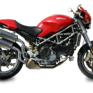Ducati Monster S4R-S4RS (06-08) - Mivv Oval titanio Monster S4R 2003-2005 -