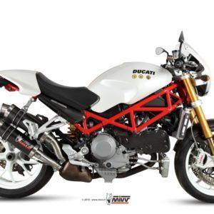 Ducati Monster S4R-S4RS (06-08) - Mivv GP carbono Monster S4R 2003-2005 -