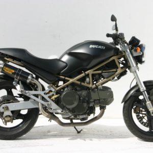ESCAPES MIVV DUCATI - Mivv GP carbono (alto) Monster 1000 2003+ -