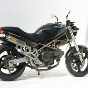 ESCAPES MIVV DUCATI - Mivv GP titanio (alto) Monster 1000 2003+ -