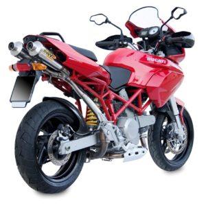 ESCAPES MIVV DUCATI - Escape Mivv X-CONE Ducati Multistrada 1100 2006+ -