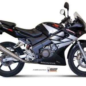 ESCAPES MIVV HONDA - Mivv X-cone acero inox Honda CBR 125 R (2004 en adelante) X-CONE -