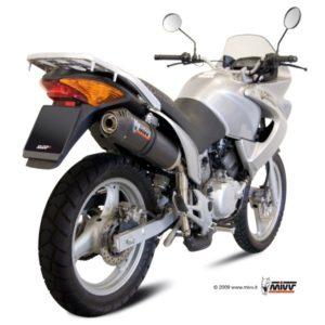 ESCAPES MIVV HONDA - Escape Mivv Honda XL 125 Varadero 2007+ OVAL CARBONO,COPA CARBONO -