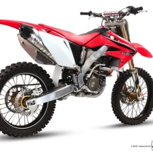 ESCAPES MIVV HONDA - Escape COMPLETO Mivv Honda CRF 250 2008-2009 ACERO -