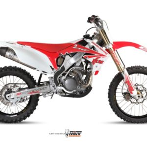 ESCAPES MIVV HONDA - Escape COMPLETO Mivv Honda CRF 250 2010 ACERO -
