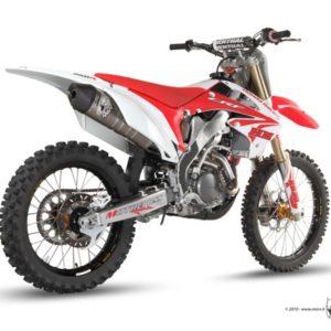 ESCAPES MIVV HONDA - Escape Mivv Honda CRF 250 2011-2012 -