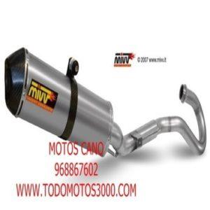 ESCAPES MIVV HONDA - Escape Mivv Honda CRE F 250 R 2011-2012 -