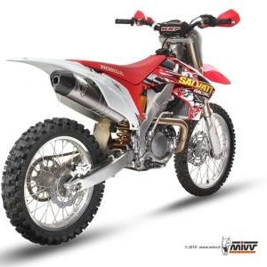 ESCAPES MIVV HONDA - Escape Mivv Honda CRF 450 2009-2010 -