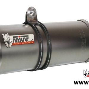 ESCAPES MIVV HONDA - Escape Mivv Honda CBR 600 FS 2001+ OVAL TITANIO,COPA CARBONO -