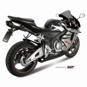 ESCAPES MIVV HONDA - Escape Mivv suono acero inox carbono Honda CBR 600 RR 2005-2006 -