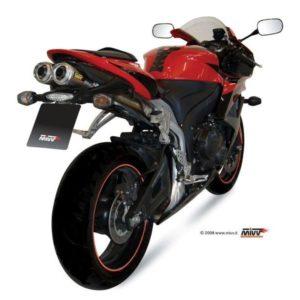 ESCAPES MIVV HONDA - Escape Mivv Honda CBR 600 RR 2007+ DUAL X-CONE -