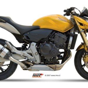 ESCAPES MIVV HONDA - Escape Mivv Honda Hornet 600 2007+ SUONO INOX -