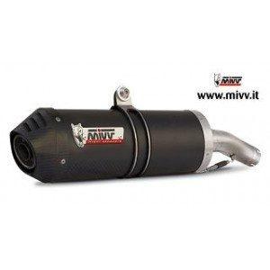 ESCAPES MIVV HONDA - Escape Mivv Honda Hornet 600 (03-06) OVAL CARBONO,COPA CARBONO -
