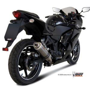 ESCAPES MIVV KAWASAKI - Escape MIVV Kawasaki Ninja 250R 2008+ GP TITANIO -