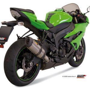 ESCAPES MIVV KAWASAKI - Escape MIVV Kawasaki ZX 6R 2009+ SUONO INOX -