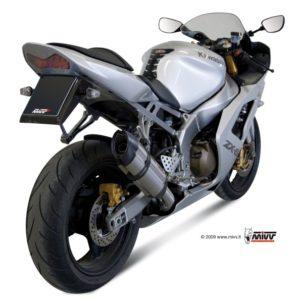 ESCAPES MIVV KAWASAKI - Escape MIVV Kawasaki ZX 6R 636 2003-2004 SUONO INOX -