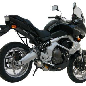 ESCAPES MIVV KAWASAKI - Escape MIVV Kawasaki Versys 650 2006+ OVAL CARBONO -