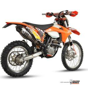 ESCAPES MIVV KTM - SISTEMA COMPLEO MIVV TITANIO COPA CARBONO KTM EXC 350 F (2012) -