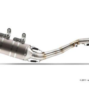ESCAPES MIVV KTM - SISTEMA COMPLETO MIVV INOX COPA CARBONO KTM SX F 450 (2009-2010) -