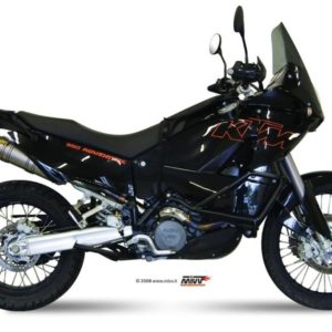 ESCAPES MIVV KTM - Escape MIVV KTM LC8 950 / ADVENTURE (2003-2005)2 ESCAPES REDONDOS TITANIO -