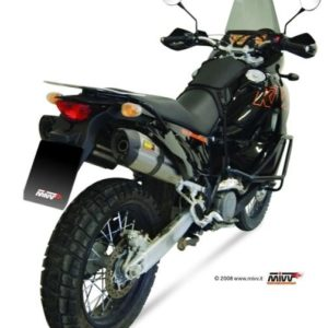 ESCAPES MIVV KTM - Escape MIVV KTM LC8 950 / ADVENTURE (2003-2005) 2 ESCAPES SUONO ACERO -