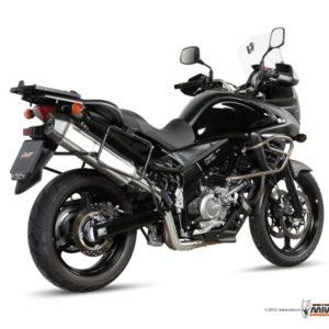 SUZUKI - Escape MIVV Suzuki DL V-STROM 650 (2012+) SPEED EDGE INOX -