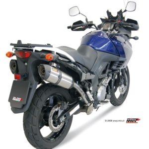 SUZUKI - Escape MIVV Suzuki DL V-STROM 1000 (2005+) Suono acero inox, copa cónica en carbono -