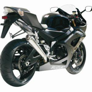 SUZUKI - Escape MIVV Suzuki GSX-R 1000 (2005-2006) X-cone acero inox -