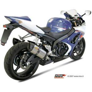 SUZUKI - Escape MIVV Suzuki GSX-R 1000 (2007-2008) Suono acero inox, copa cónica en carbono -