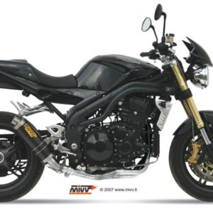 ESCAPES MIVV TRIUMPH - Escape MIVV Triumph SPEED TRIPLE (2005-2006) GP carbono -