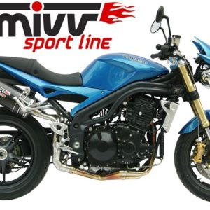 ESCAPES MIVV TRIUMPH - Escape MIVV Triumph SPEED TRIPLE (2005-2006) Oval carbono -