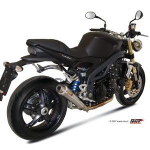 ESCAPES MIVV TRIUMPH - Escape MIVV Triumph SPEED TRIPLE (2007-2010) X-cone acero inox -