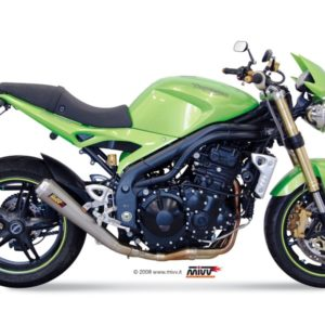ESCAPES MIVV TRIUMPH - Escape MIVV Triumph SPEED TRIPLE (2007-2010) X-cone Plus acero inox -