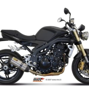 ESCAPES MIVV TRIUMPH - Escape MIVV Triumph SPEED TRIPLE (2007-2010) Suono acero inox, copa cónica en carbono -