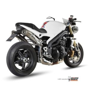 ESCAPES MIVV TRIUMPH - Escape MIVV Triumph SPEED TRIPLE (2007-2010) Ghibli acero inox -
