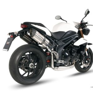 ESCAPES MIVV TRIUMPH - Escape MIVV Triumph SPEED TRIPLE (2011+) Suono acero inox, copa cónica en carbono -