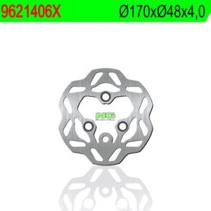 HYOUSUNG - Disco de freno NG ondulado 1406X Ø170 x Ø48 x 4 -