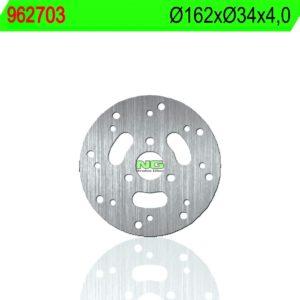 HYOUSUNG - Disco de freno NG 703 Ø162 x Ø34.2 x 4 -