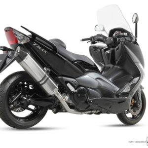 YAMAHA T-MAX 500 (08-10) - MIVV Speed Edge acero inox, copa en carbono T-MAX 500 (2008-2011) -